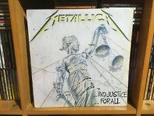 METALLICA:AND JUSTICE FOR ALL 2LP, ORIGINAL EDICIÓN ESPAÑOLA 1989....SLAYER,