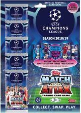 2018-19 TOPPS MATCH ATTAX Liga de Campeones Mega Pack 75 cartas + Edición Limitada
