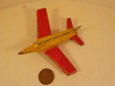 """Original 1960's-vintage (Barclay) Die Cast """"MANOIL ~ LOCKHEED F-90"""" Airplane Toy"""