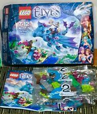 Lego Elves 41172 The Water Dragon Adventure VGC