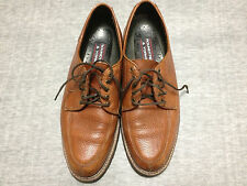 Roundtree & Yorke Brown Leather Oxfords Mens Size 9 M. Very Good Condition