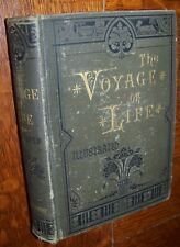 1883 JOURNEY CRADLE TO GRAVE VICTORIAN ETIQUETTE BOOK