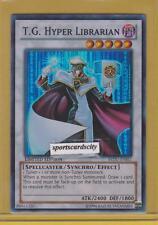 T.G. HYPER LIBRARIAN - (REDU-ENSE1) - Super Rare - Limited Edition - Yu-Gi-Oh