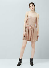 Mango Metallic Dress Size XS (UK 6) Box4631 C