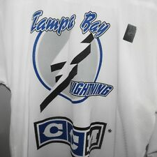 CCM Tampa Bay Lightning Practice Hockey Jersey NEW Youth L/XL