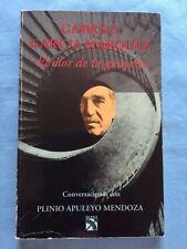 EL OLOR DE LA GUAYABA - FIRST EDITION BY GABRIEL GARCIA MARQUEZ