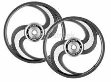Royal Enfield Classic 350 cc 500 cc Alloy Black Wheel Rim Set 2 Spoke