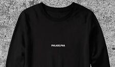 MENS PHILADELPHIA SWEATSHIRT PENNSYLVANIA CITY TRAVEL JUMPER S-XXL STREETWEAR