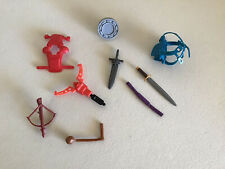 Vintage 80's He-Man Masters of the Universe Thundercats Accessory Lot