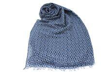 Sciarpa uomo 100% VISCOSA pashmina sfrangiata linea fiori R.SPORT x3338 jeans