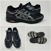 Asics Gel Express Black Silver Running Cross Training Sneakers Shoes S018N SZ 11
