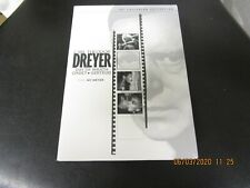 Carl Theodor Dreyer 4xDVD Box Set Used! Criterion Collection 2006 2ND PRINTING