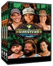 SURVIVOR 20 (2010) HEROES vs VILLAINS - Upolu, Samoa - US TV Season NEW DVD R1