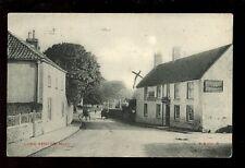 Somerset LONG ASHTON The Angel Inn street scene PPC c1920s? used