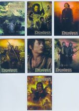 TC 2004 Lord Of The Rings RotK Hobby Japan Rare Exclusive Foil Promo Set PR1-7