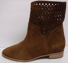 Michael Kors Size 9 Brown Leather  Ankle Boots New Womens Shoes