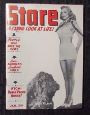 1950 Jan STARE A Candid Look At Life Magazine FN+ Pin-Ups