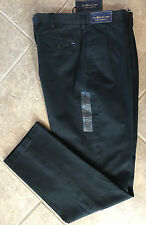 Polo Ralph Lauren Pleat Front Chino Pants Mens 34 x 34 Black Classic Fit NWT