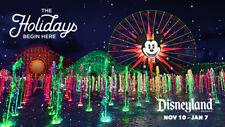 Disneyland Christmas Holidays World of Color + More DVD CD Walt Disney World