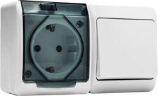 Interruptor conmutador base estanco 5126 16a 250v Famatel