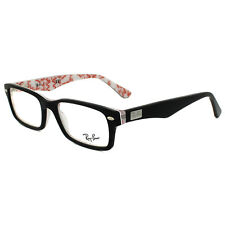 9b543af661 Ray-Ban Glasses Frames 5206 5014 Black on White Texture 52mm