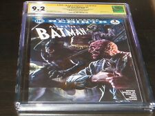 All Star Batman #1 CGC 9.2 SS Romita Jr. & Scott Snyder from Snyders Collection