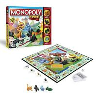 Monopoly Junior Game Easy Kids Play Fun Child Gift Board Games Toys Junior Skat