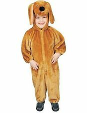 Dress up America 318-12mo Brown Puppy Plush Costume Size 12 Months