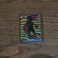 2019-20 Coby White Rookie Card Gold Prizm Wave Chicago Bulls RC #211