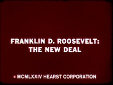 Franklin Delano Roosevelt: The New Deal Documentary  DVD  Sound  FREE SHIPPING