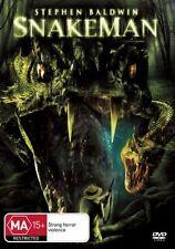 SNAKEMAN **NEW & SEALED** DVD R4 Stephen Baldwin (VERY RARE)