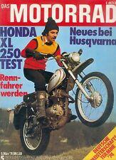 Motorrad 5 74 Honda XL 250 Maico MD 250 Husqvarna CR400 1974 Schweden Japan