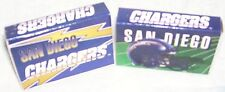 SAN DIEGO CHARGERS--2 BOXES OF MATCHES--NFL STRIPES