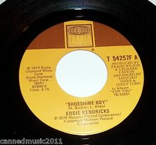 Eddie Kendricks: Shoeshine Boy / Hooked On Your Love  [New and unplayed]