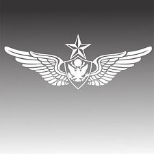 U.S. Army Senior Aviation Badge Crew Chief Wings Decal Miltary Sticker