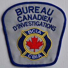 Canada Bureau Security Service Sécurité French Patch Badge Insigne Crest Logo