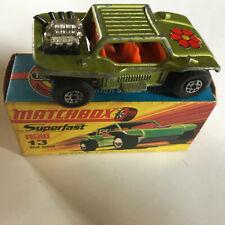 Matchbox Superfast 13 Baja Buggy In Original Box
