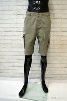 Bermuda DOCKERS Pantalone Taglia 42 Corto Uomo Short Man Cotone Chino Beige
