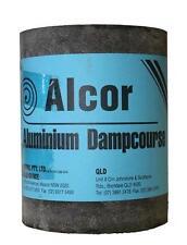 Alproof Super Aluminium Dampcourse Alcor 450mm x 0.45mm x 10M