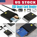 DOD Military USB Smart Card Reader CAC/National ID/Chip for Mac OS Windows Linux