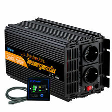 Convertisseur 2000W DC 24V AC 220V Onduleur Max. 4000W Power inverter Softstart