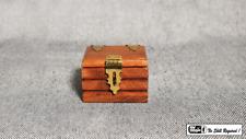 Quarter Go Box (Teak) by Mr. Magic