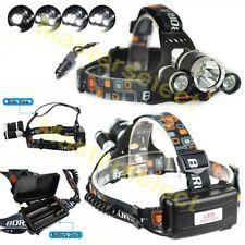 Lampe Torche frontale Rechargeable portable Rj3000