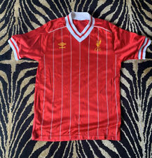 Liverpool Lfc Retro 1984 Home Shirt Authentic Medium Champions League Winners