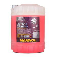10 (1x10) Liter MANNOL Antifreeze AF12+ Frostschutz Fertiggemisch rot (-40°C)