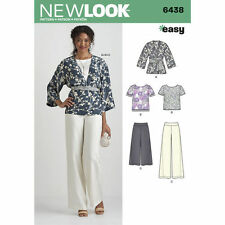 New Look KIMONO TOP PANTS Pattern # 6438 ~ Size 10 thru 22 ~ New in Pkg!