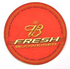 BUDWEISER Fresh USA bière Dessous-de-verre Dessous De Verre coaster support