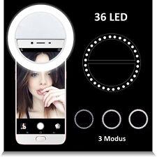 Selfie FlashLight 36 LED Ring Fill Blitz Licht Kamera Fotografie Für Handy Phone