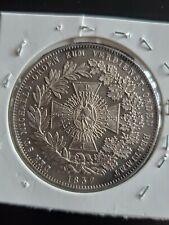 1837 Silver Germany Bayern Thaler