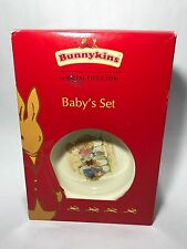 NEW In Box Royal Doulton Bunnykins Baby Set 2003 W/ Cup And Plate